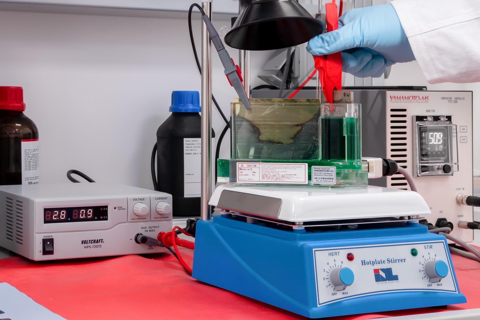 Die Hull-Zelle – der praktische Elektrolyttest der Galvanotechnik