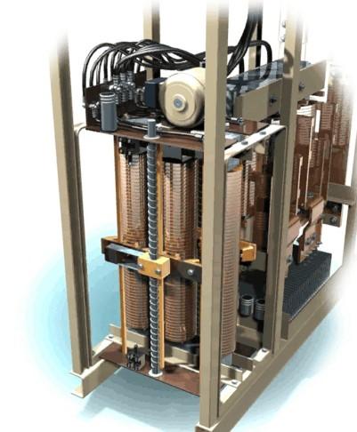 Darstellung eines Stelltransformators als Steuerung des Gleichrichters - © Munk