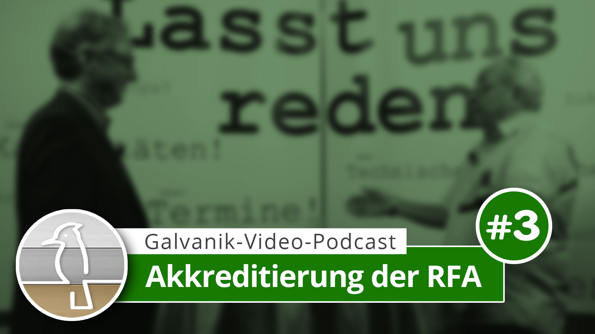 Video-Podcast Galvanotechnik: Akkreditierung der RFA
